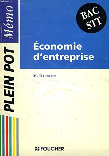 9782216015276: Economie d'entreprise