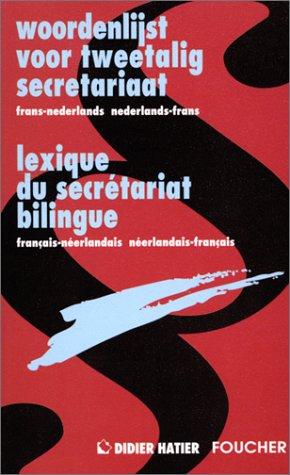 9782216030859: Lexique du secrétariat français-néerlandais et néerlandais-français