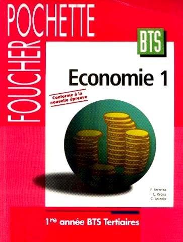 9782216036721: Foucher pochette économie 1re année BTS tertiaires