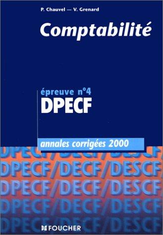 9782216084500: Annales DPECF, 2000 : comptabilit�