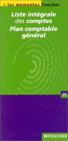9782216086757: Liste intégrale des comptes : Plan comptable général