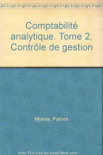 9782216089796: Comptabilité analytique : Contrôle de gestion, BTS, 2e année