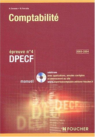 9782216094233: Foucher Expertise comptable : Comptabilité. Épreuve n° 4 DPECF, DPECF (Manuel)