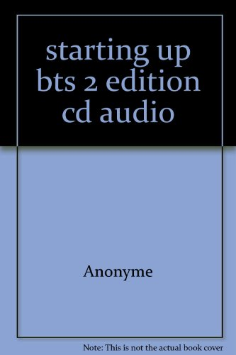 Starting Up: Anglais, BTS (CD audio) (2216094625) by BTS (CD audio) Starting Up: Anglais