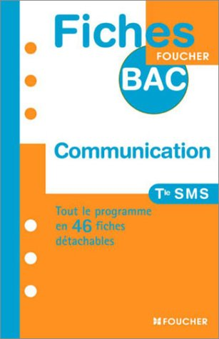 9782216095575: COMMUNICATION SMS (Ancienne édition)