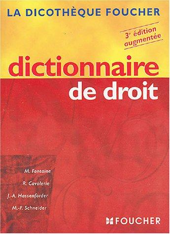 9782216095650: Dictionnaire de droit