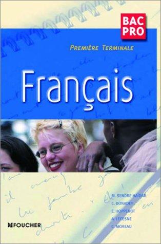 9782216097111: Français Bac Pro