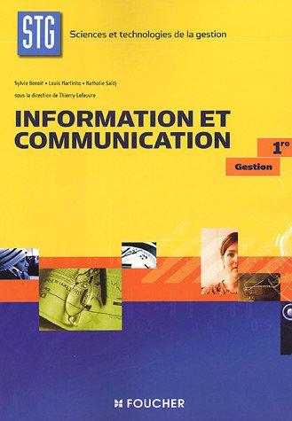 1ERE ; INFORMATION ET COMMUNICATION ; STG: COLLECTIF