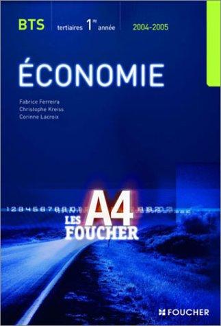 9782216097494: Foucher Pochette : Économie 1, BTS