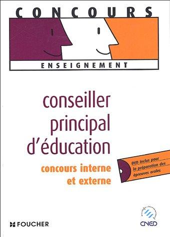 9782216101559: CONCOURS CONSEILLER PRINCIPAL D EDUCATION (Ancienne édition)