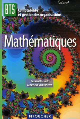 9782216104161: Mathématiques BTS CGO (French Edition)