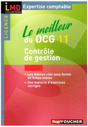 9782216105830: Le meilleur du DCG11 : Contrôle de gestion