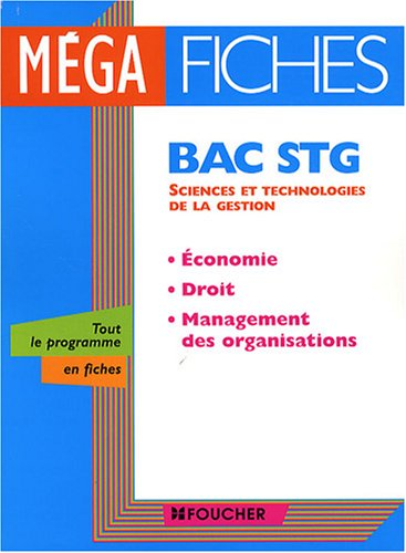 fiches bac economie terminale stg ancienne edition