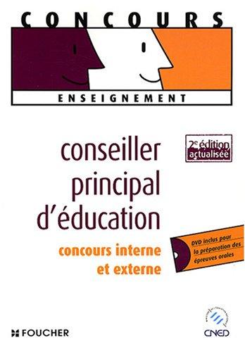 9782216109272: Conseiller principal d'éducation : Concours interne et externe (1DVD)