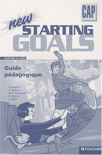 9782216110940: New starting goals CAP : Guide pédagogique