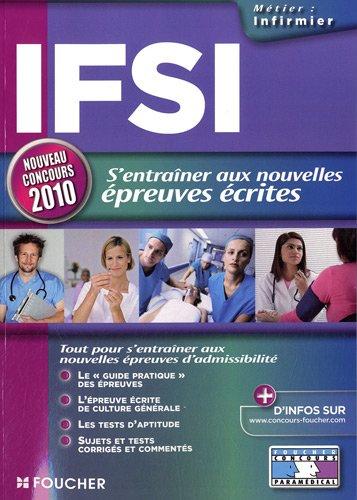 9782216112562: IFSI : S'entraîner aux nouvelles épreuves écrites
