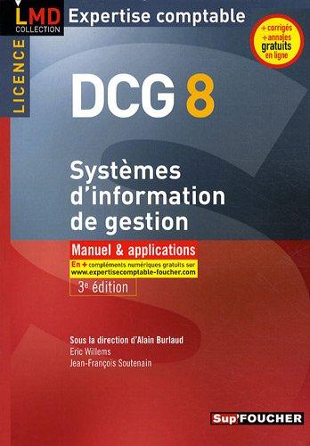 9782216113071: DCG 8 Syst�mes d'information de gestion