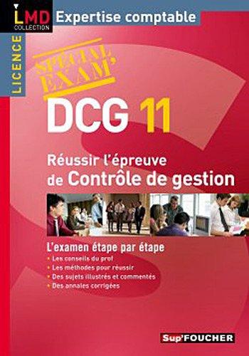 9782216113477: Réussir l'épreuve contrôle de gestion DCG 11 (French Edition)