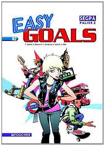 9782216114511: Easy goals Anglais SEGPA palier 2 : A2