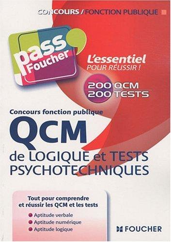9782216114672: QCM de logique et tests psychotechniques