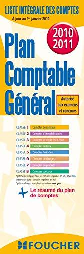 PLAN COMPTABLE GENERAL (EDITION 2010/2011) - COLLECTIF
