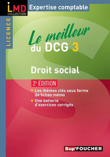 9782216115778: Le meilleur du DCG 3 Droit social (French Edition)