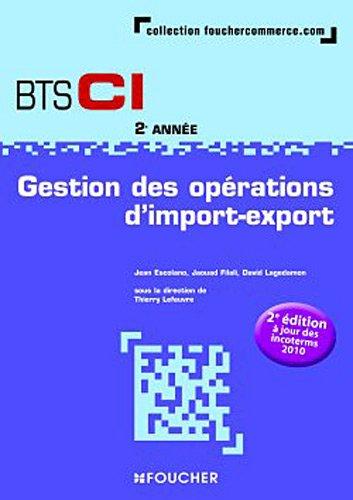 Gestion des opérations d'import-export 2e édition à: Lagedamon, David, Filali,