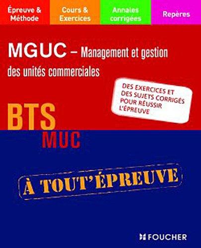 9782216117284: MGUC - Management et gestion des unit�s commerciales