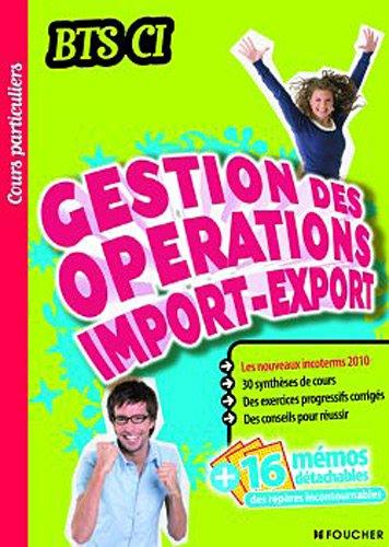 9782216117307: Gestion des opérations import-export