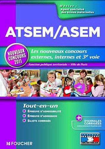 9782216117475: ATSEM/ASEM Agent territorial spécialisé des écoles maternelles (French Edition)