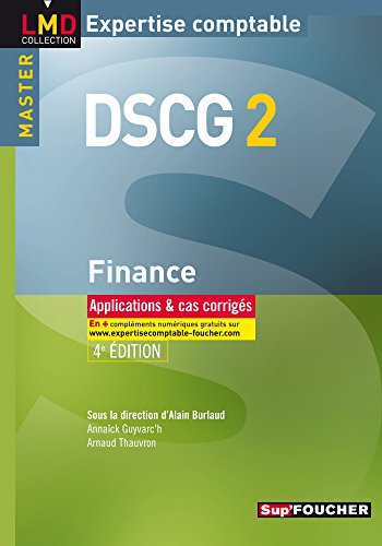 9782216118533: Finance DSCG 2 (French Edition)