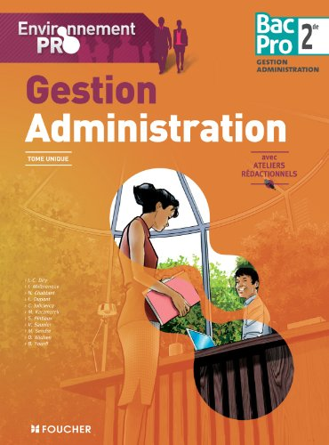 9782216119004: Environnement pro Gestion-administration Sde Bac Pro