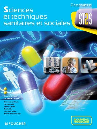 9782216119288: sciences et techniques sanitaires et sociales 1re st2s nouveau programme
