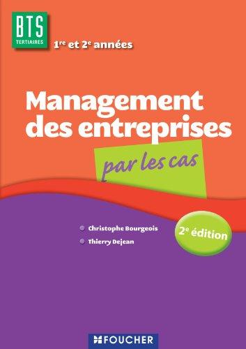 9782216119387: Management des entreprises par les cas BTS