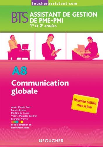 9782216119424: A8 Communication globale BTS