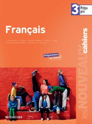 9782216119462: Fran�ais 3e Pr�pa - Pro