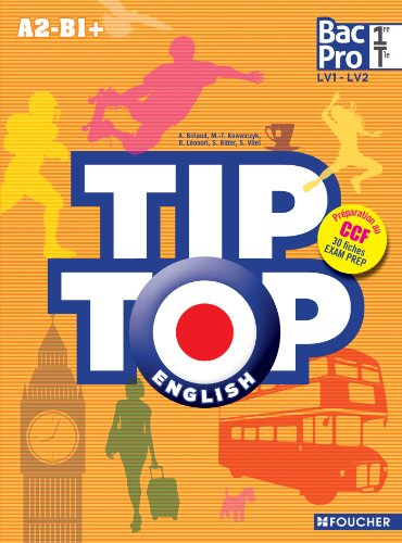 9782216119509: TIP-TOP ENGLISH 1re Tle Bac Pro