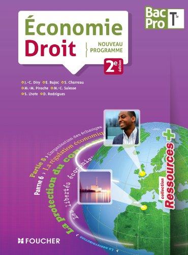 9782216119646: Ressources + Economie - Droit Tle Bac Pro