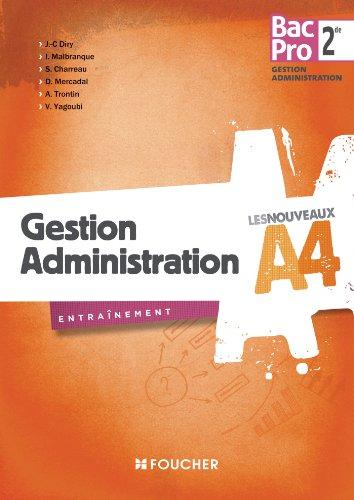 9782216119714: Les Nouveaux A4 Gestion Administration Sde Bac Pro