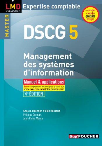 9782216121229: DSCG 5 - Management des systèmes d'information Manuel et applications 4e édition