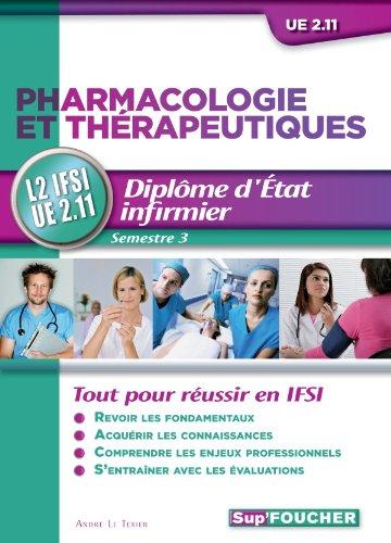 9782216121373: Pharmacologie et th�rapeutiques L2 IFSI UE 2.11 Semestre 3