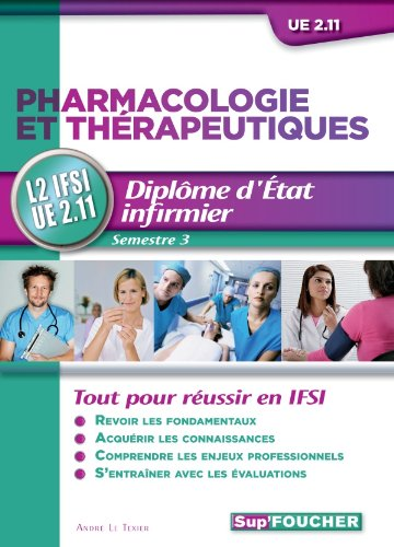 9782216121373: pharmacologie et therapeutiques d.e.i ue 2.11 semestre 3