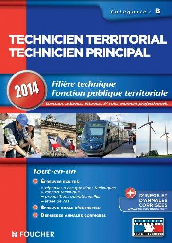 9782216122387: Technicien territorial - Technicien principal Cat�gorie B. 2014