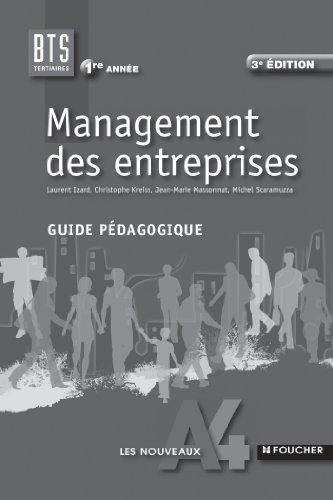 9782216123735: Les Nouveaux A4 Foucher Management des entreprises 1re année BTS Guide pédagogique