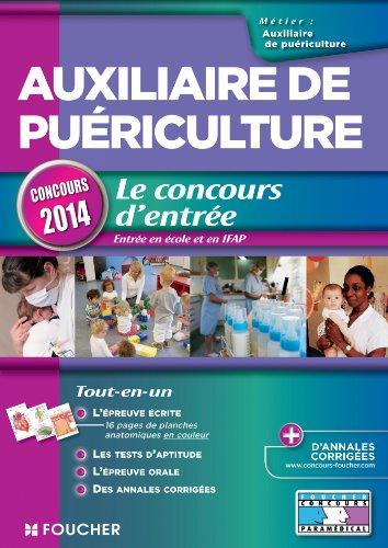 9782216124220: Auxiliaire de pu�riculture - Le concours d'entr�e concours 2014