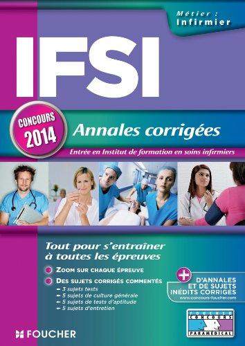 9782216124251: IFSI Annales corrig�es Concours 2014