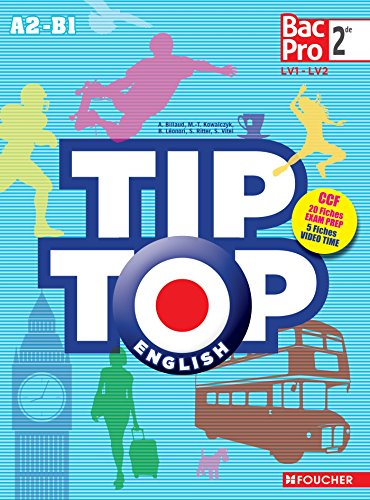 9782216126941: TIP-TOP ENGLISH Seconde Bac Pro