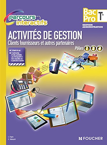 Activités de gestion Clients fournisseurs et autres: Fages, Luc, Habouzit,