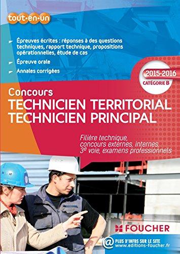 9782216128785: Technicien territorial - Technicien principal Catégorie B - 2015 - 2016