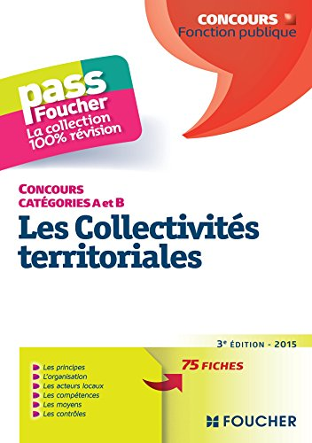 9782216129119: Pass'Foucher - les Collectivites Territoriales 3e �dition - 2015